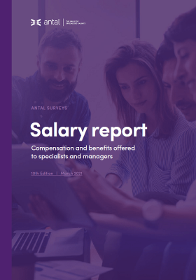 Antal Salary Report 2021