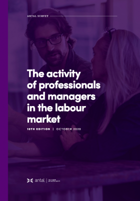 The activity of professionals and managers in the labour market - 10th edition