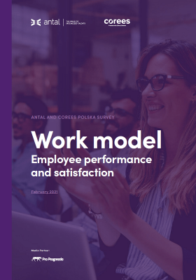 Work model. Employee performance and satisfaction