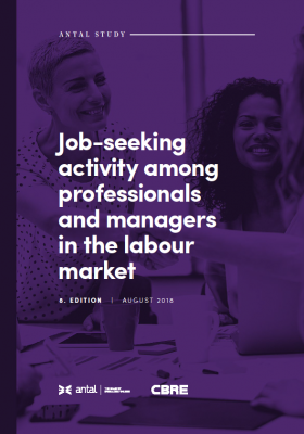 Job-seeking activity among professionals and managers in the labour market - 8th edition